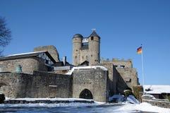 Château antique en Allemagne photographie stock libre de droits