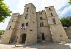 Château-Arnoux Photo libre de droits