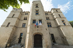 Château-Arnoux Image libre de droits