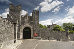 Château Arundel le Sussex occidental d'Arundel de passage Photographie stock