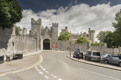 Château Arundel le Sussex occidental d'Arundel de passage Image stock