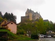 Château au Luxembourg photographie stock libre de droits