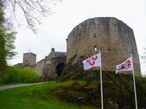 Château au Luxembourg photos stock