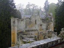 Château au Luxembourg photo stock