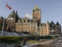 Château au Québec Images stock