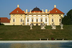 Château Austerlitz Images stock