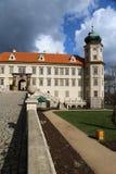 Château avec la tour images stock