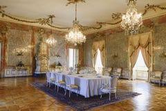 Château baroque Valtice, l'UNESCO culturel de paysage de Lednice-Valtice, point de repère culturel national, Moravie du sud, tchè photo stock