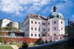Château Becov NAD Teplou, République Tchèque Image libre de droits