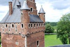 Château Beersel Image libre de droits