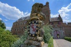 Château Bergh Photos libres de droits