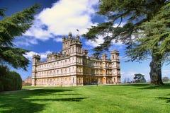 Château Berkshire, Angleterre R-U de Highclere Photo stock