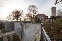 Château Bielefeld Allemagne de Sparrenburg Photo stock