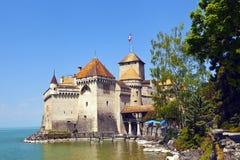 Château blanc authentique Photographie stock