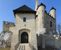 Château Bobolice. Photos stock