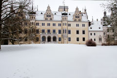 Château Boitzenburg, Uckermark Photo stock