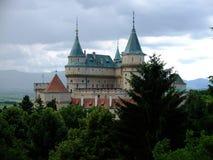 Château Bojnice Photos stock