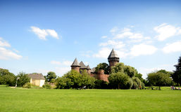 Château - Burg Linn images libres de droits