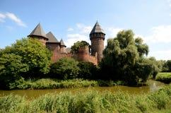 Château - Burg Linn images stock