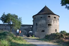Château Bzovik, Slovaquie Photo stock