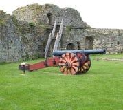 Château Canon de Pevensey Photos libres de droits