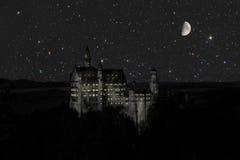 Château Cendrillon Photo libre de droits