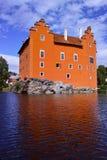 Château Cervena Lhota de conte de fées photographie stock libre de droits