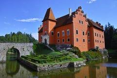 Château Cervena Lhota de conte de fées photos libres de droits