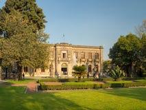 Château colonial de Chapultepec, vues, colline, parc Images stock