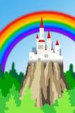 Château coloré images libres de droits
