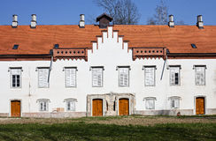 Château croate de XVIème siècle images stock
