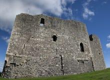 Château d'écossais de Dundonald Photo libre de droits