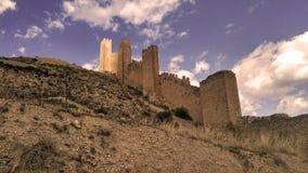 Château d'Albarracin photo stock