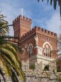 Château d'Albertis en Genoa Italy Photos libres de droits