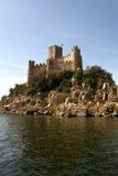 Château d'Almourol au Portugal Photographie stock
