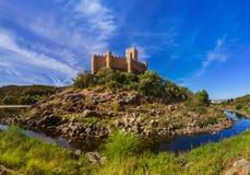 Château d'Almourol - Portugal photo stock