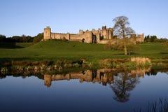 Château d'Alnwick image stock