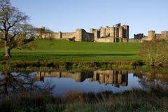 Château d'Alnwick photo stock