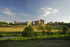 Château d'Alnwick Images libres de droits