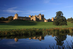 Château d'Alnwick images stock