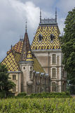 Château d'Aloxe-Corton - France Photographie stock libre de droits