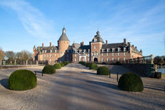 Château d'Anholt - Allemagne images libres de droits