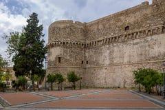 Château d'Aragonese - le Reggio de Calabre, Italie Photo stock