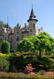 Château d'Arcen - jardins modèles Images libres de droits