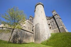 Château d'Arundel dans le Sussex occidental images stock