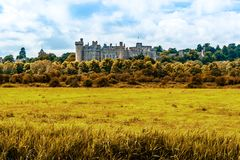 Château d'Arundel dans le Sussex occidental, Angleterre, R-U photos libres de droits