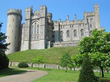 Château d'Arundel, le Sussex occidental, Angleterre. photo stock