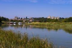 Château d'Arundel, le Sussex occidental, Angleterre R-U photo libre de droits
