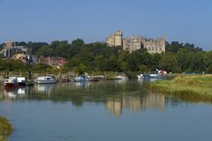 Château d'Arundel, le Sussex occidental, Angleterre R-U images libres de droits