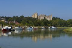 Château d'Arundel, le Sussex occidental, Angleterre R-U photographie stock libre de droits